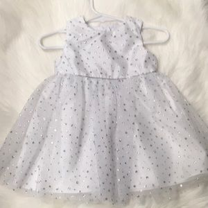 Sparkly baby girl dress